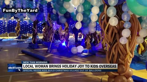 Local woman brings holiday joy to kids overseas