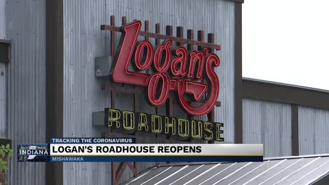 Logan's Roadhouse reopens to in-person dining