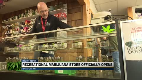 Low turnout for Michiana's second newest recreational marijuana store