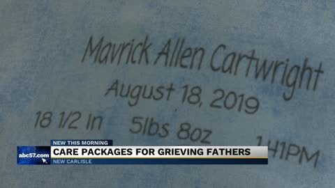 New Carlisle couple turns grief into organization that helps local dads, families