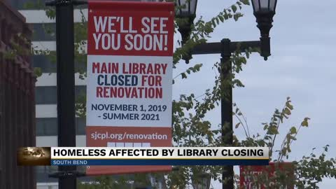 Main library two-year closure raises concerns for the homeless