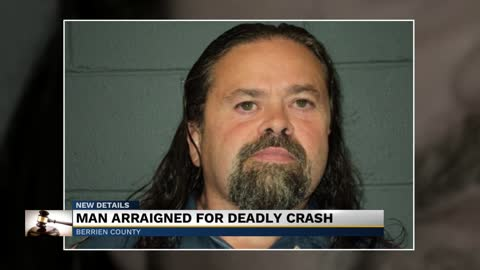 Man charged for deadly crash on Miller Road