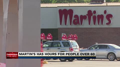 Martin's Super Markets to adjust open hours to ensure safety of at-risk shoppers