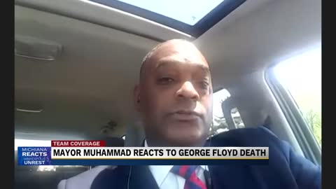 Mayor of Benton Harbor reacts to George Floyd's death