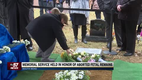 Memorial service held in honor of 2,411 aborted fetal remains
