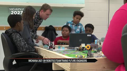 Michiana 2027: Benton Harbor robotics team training tomorrow's engineers