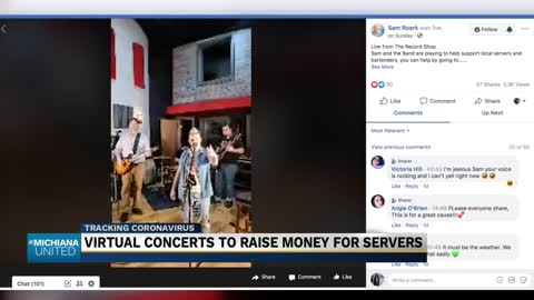'Michiana Bar Aid' hosts virtual concert series to help local...