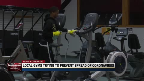 Michiana gyms taking precautions against coronavirus
