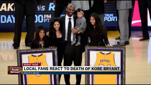 Michiana residents react to loss of Kobe Bryant