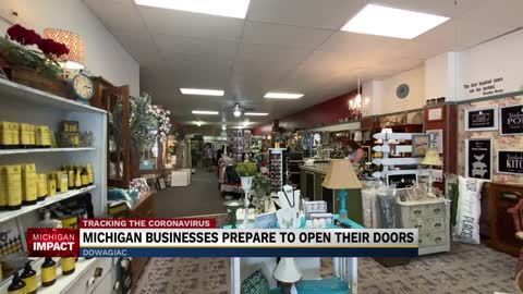 Michigan retail stores reopen with restrictions