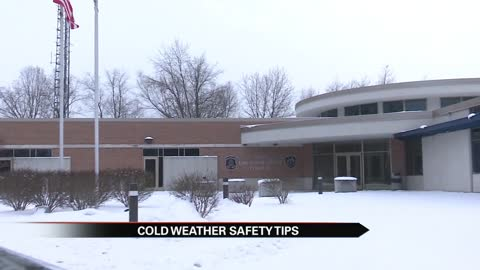 Michigan State Police's cold weather safety tips