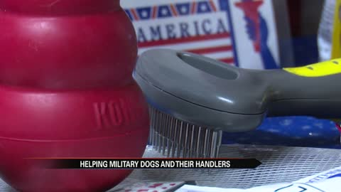 Michiana couple on a mission to pack 200 boxes for deployed military dogs and handlers