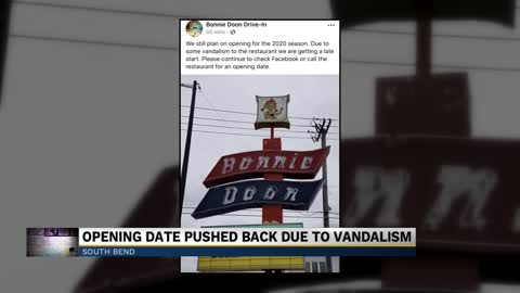 Mishawaka drive-in restaurant vandalized