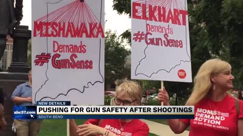Moms Demand Action holds rallies in Indianapolis, Fort Wayne