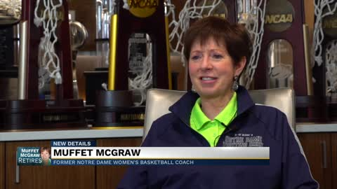 Muffet McGraw on Niele Ivey as next head coach