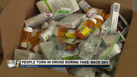 National Drug Take Back Day is underway in South Bend