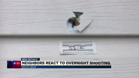 Neighbors react to overnight shooting