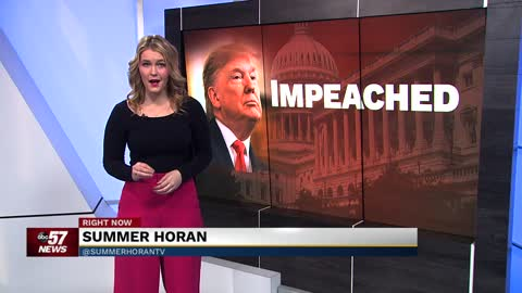 Neighbors share thoughts on impeachment trial