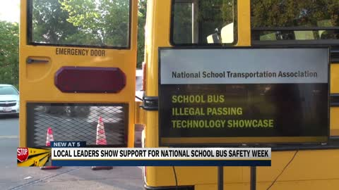 New bus safety technology premieres in Washington, D.C.