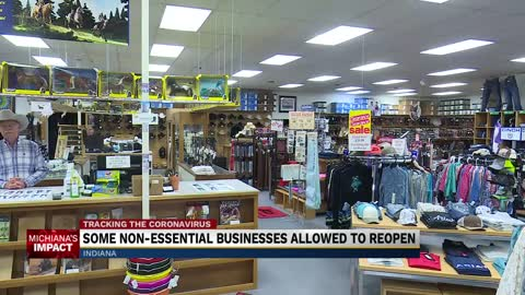 Governor Holcomb opens nonessential businesses on limited basis