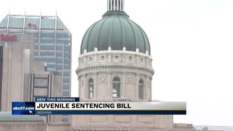 New Indiana Senate bill would change how minors are sentenced