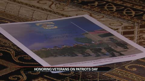 Honoring veterans on Patriot Day
