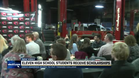 New Zolman Tire scholarship helps eleven Michiana students go...