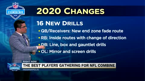NFL Combine includes 16 new drills this year