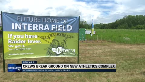 Northridge HS holds official groundbreaking for sports complex