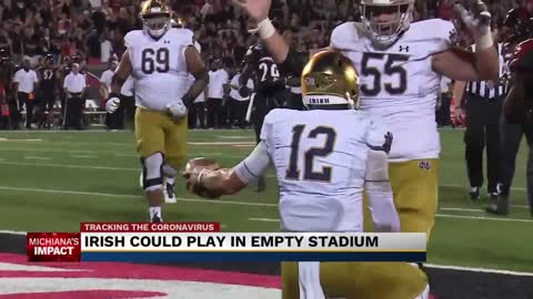 Notre Dame football adjusting to new normal