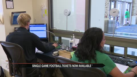 Single game tickets on sale for Notre Dame football