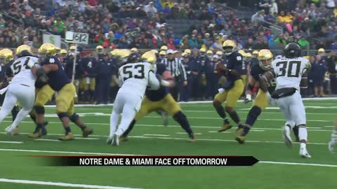 Notre Dame getting ready for hostile environment in Miami