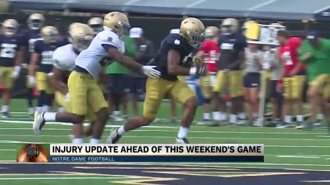Notre Dame Head Coach preparing for home opener against New Mexico