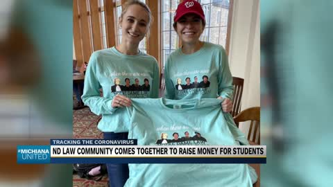 Notre Dame Law community secretly raises thousands for students