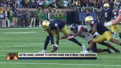 Notre Dame looking ahead to Bowling Green after win against Virginia