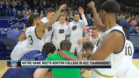 Preview: Notre Dame meets Boston College in ACC Tournament
