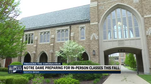 Notre Dame takes extra precautions before reopening this fall