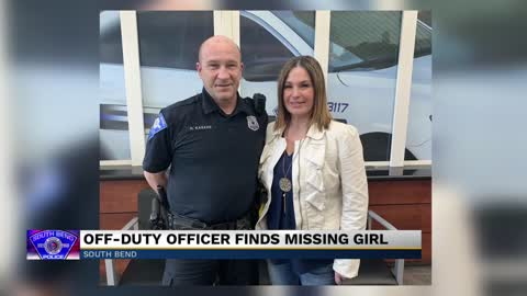 Off-duty South Bend Police officer finds missing woman