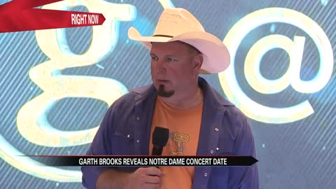 One-on-one: Garth Brooks talks big performance and big project