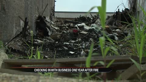 One year later, fire still causing problems for business in Elkhart