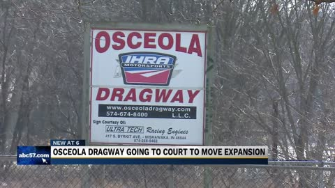Osceola Drag Track expansion on hold