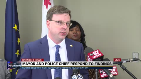 South Bend mayor, police chief address investigation into Eric Logan's death