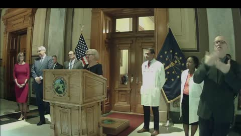 Part 3: Governor Holcomb press conference