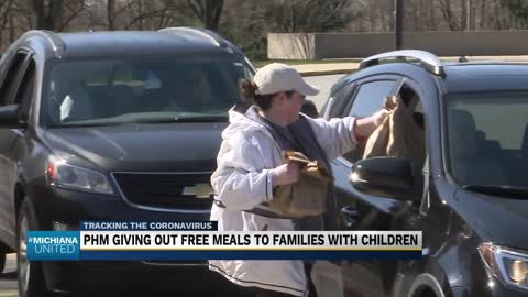 Penn Harris Madison providing 3 meals a day for students