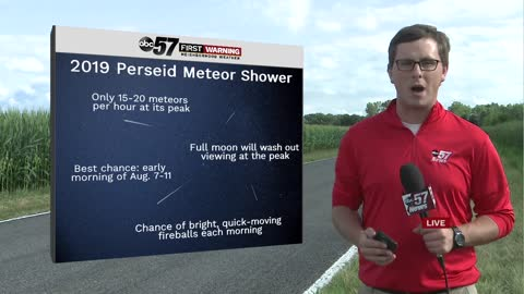 Perseid meteor shower set to peak; what you need to know