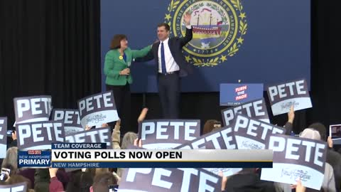 Polls open in New Hampshire as Buttigieg makes appeal to undecided voters