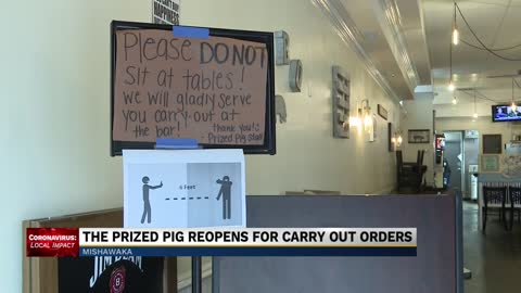 Popular BBQ restaurant The Prized Pig reopening for carryout...