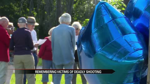 Prayer vigil held for victims of double homicide on Huey and Frederickson