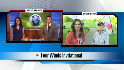 Pro-Am golfer Carleigh Silvers speaks with ABC57 News