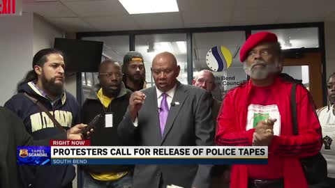 Protestors call for release of police tapes, Mayor Pete responds
